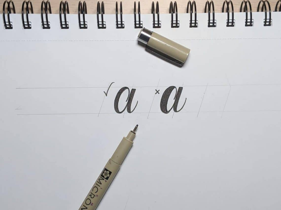 Fake Calligraphy M How To Do Faux Fake Calligraphy In 5 Easy Steps 2019