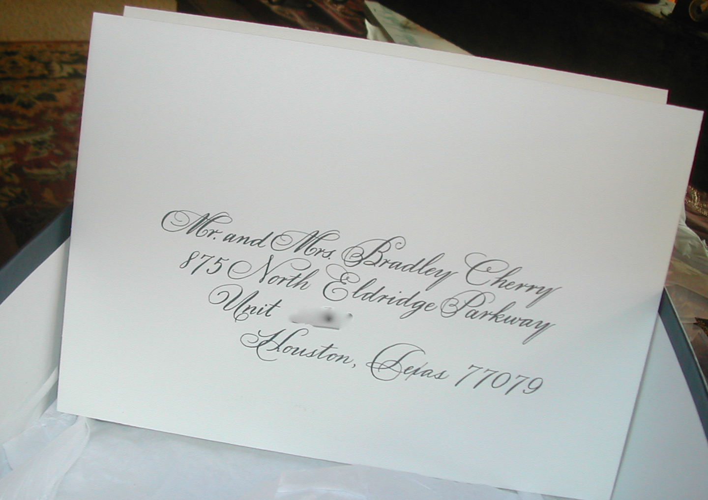 Best Wedding Invitation Font In Word Calligraphy On Envelopes | Lettering Art Studio