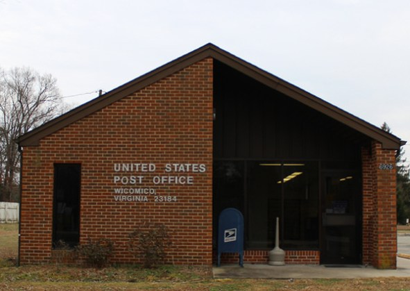 U.S. Post Office - Wicomico, VA by Carmen Shields