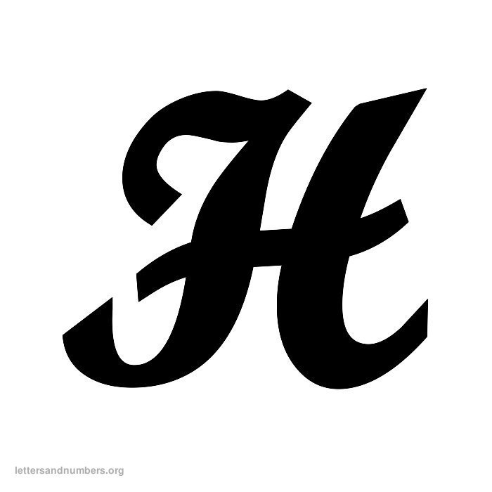 Printable A-Z Cursive Letters Letters and Numbers Org