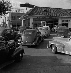 Gas rationing in WWII
