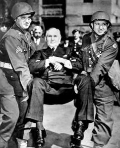 Army Seizes Montgomery Ward President