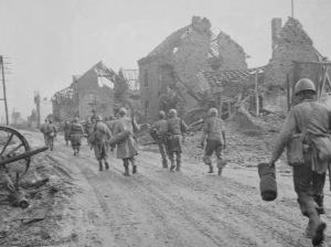8th Division In Kleinhau, December 1944