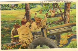 Field Artillery In Action, Ft. Benning, GA