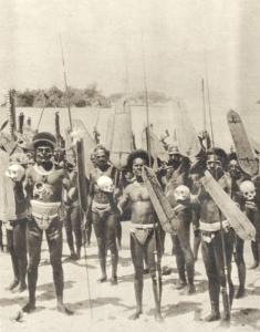 Head Hunters Of The Solomon Islands