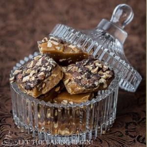 4 Ingredient Toffee Crunch
