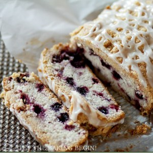 Blueberry & Raspberry Coffee Cake