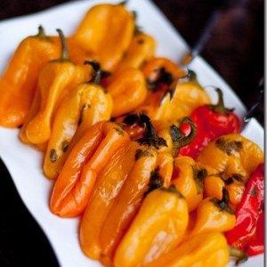 Pickled Mini Bell Peppers w/ Feta Cheese