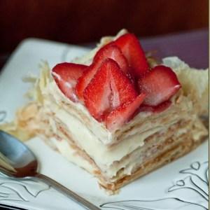 """""""Napoleon"""" Cake & Pastry Cream – {Торт """"Наполеон"""" и Заварной Крем}"""