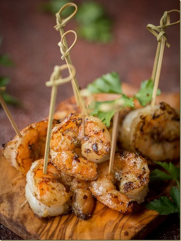 Aside from the magic qualities, this bursting with flavor Jumbo Shrimp Appetizer is a delicacy that disappears at a blink of an eye!  by LetTheBakingBeginBlog.com