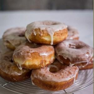 Super Soft Doughnuts w/ Sugar Glaze