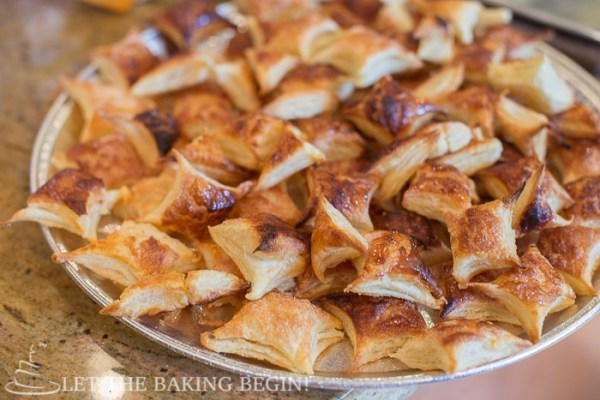 Wow your guests with these easy to make, but oh so impressive pastries! Don't believe me? Check out my step-by-step instructions! by LetTheBakingBeginBlog.com