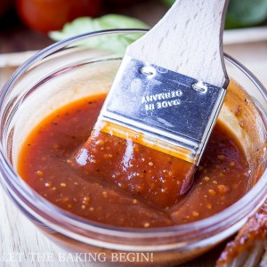 Homemade Sweet & Tangy BBQ Sauce Recipe