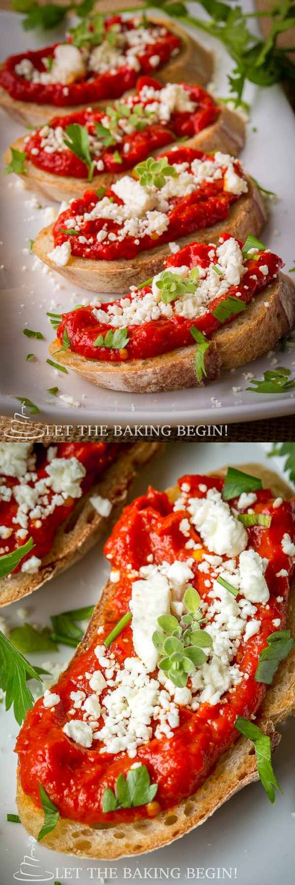 Spicy roasted pepper feta canap s let the baking begin for Where can i buy canape cups