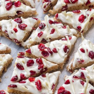 Copycat Starbucks Cranberry Bliss Bars