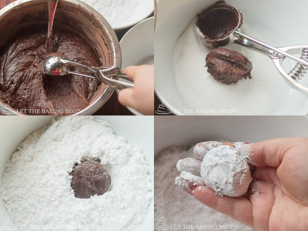 vChocolate Crinkle Cookie – a cookie that will satisfy the most serious chocolate cravings. Fudgy, soft and delicious it's the cookie for you!