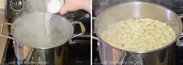 Potato Gnochi with Bacon & Caramelized Onion | By LetTheBakingBeginBlog.com | @Letthebakingbgn