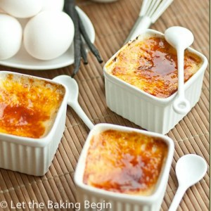 Classic Creme Brulee (4 Ingredients Only!)