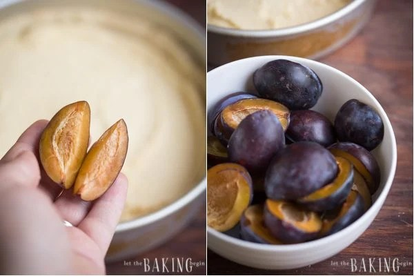 Almond Cream and Plum Tart - Gluten free dessert that's delicious and guilt free!| Let the Baking Begin!