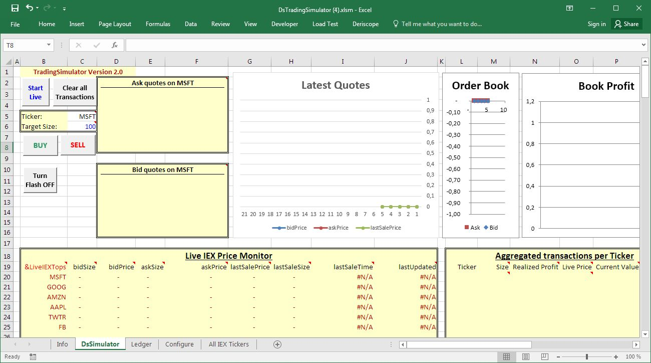Vba Stock Simulation Using A Stock Trading Simulator In Excel Letyourmoneygrow