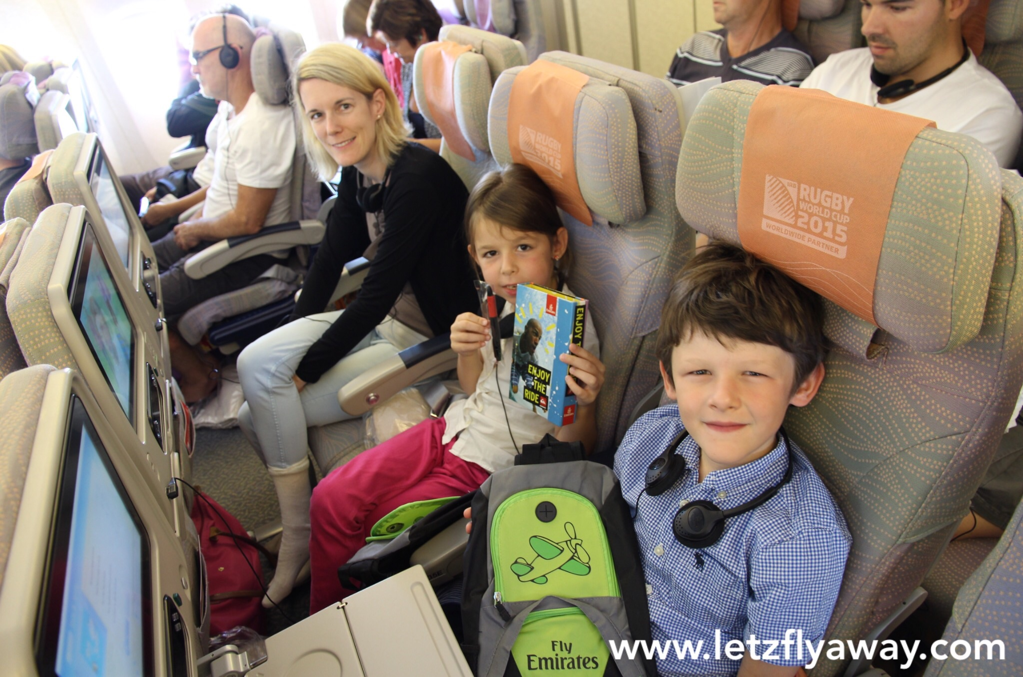 Emirates Economy Class Flight Review