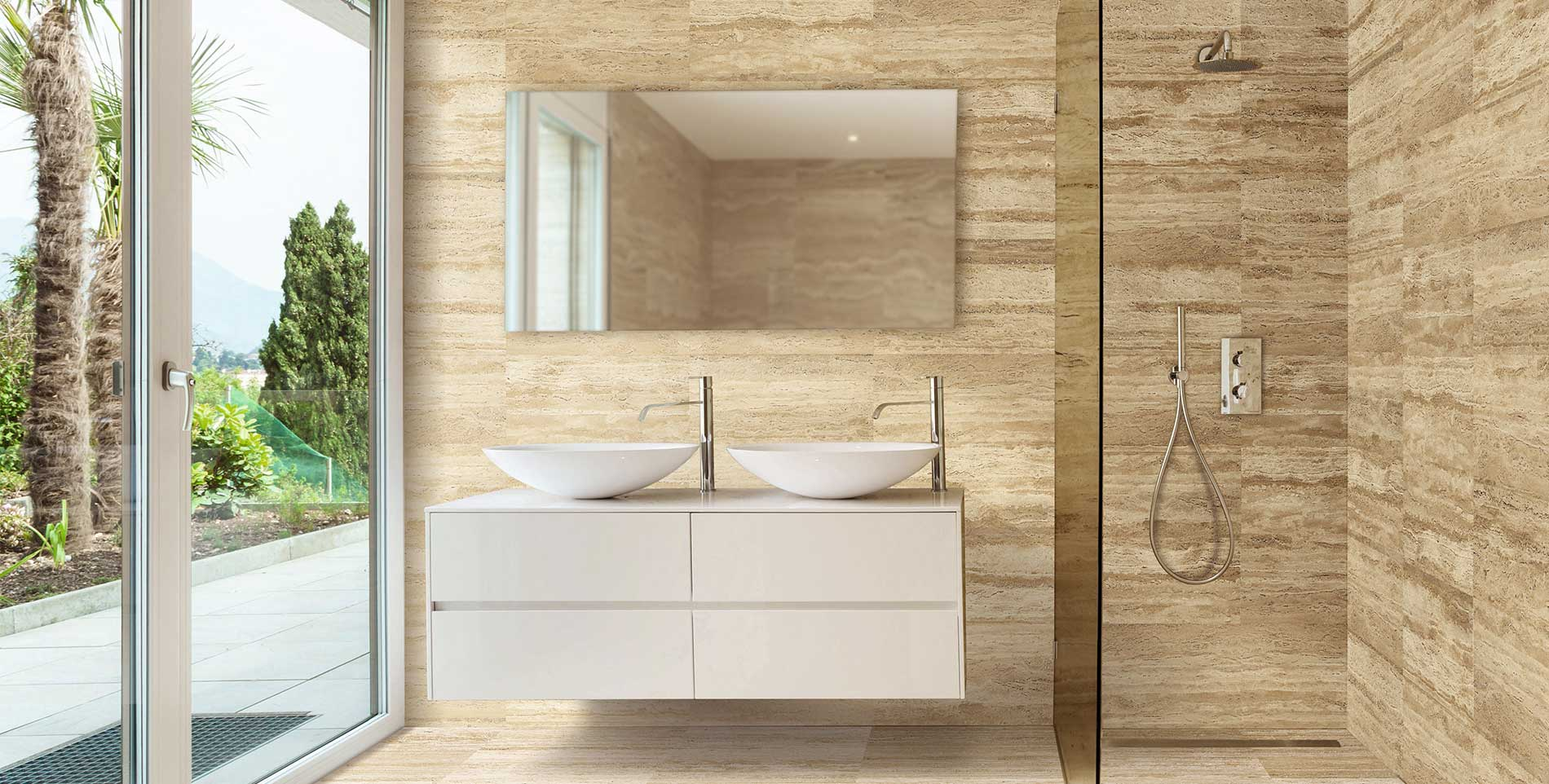 Marmol Travertino Para Baños Baño De Travertino Inspiración Levantina
