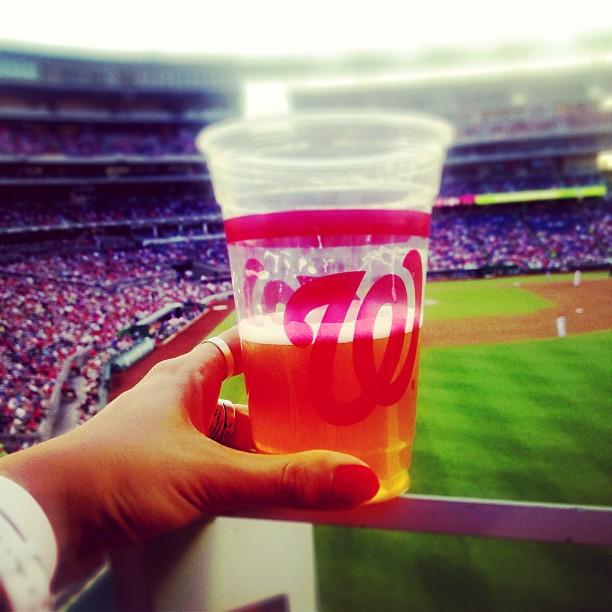 #baseball #washingtonnational #beer