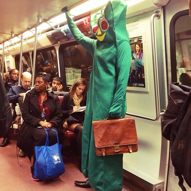 Happy Halloween metro riders.#halloween#dc#dcmetro