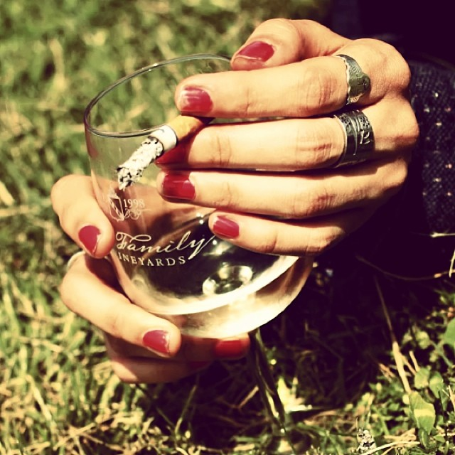 #hands#smoke #sun #nature