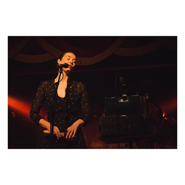 Last night's Lisa Hannigan performance @Slims (#regram #notmyphoto)