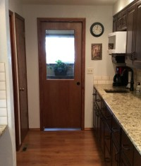 Half glass pocket door - Home Remodeling | Boise, Idaho