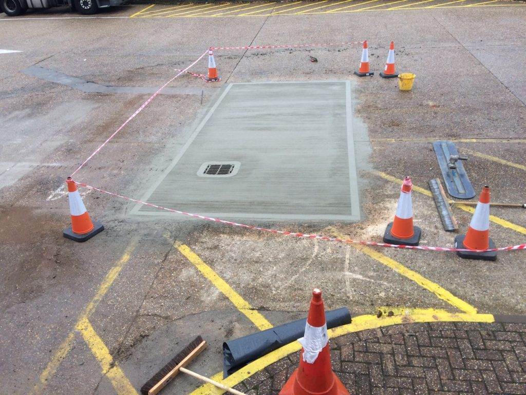 Concrete Floor Repairs To Busy Distribution Centre In