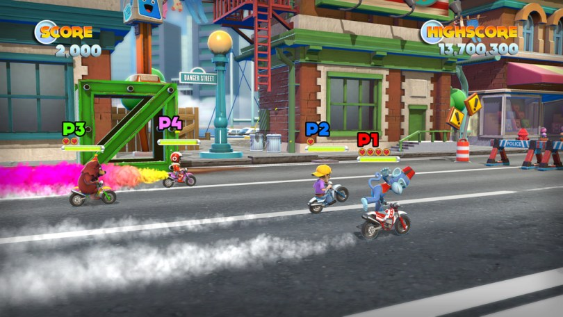 Joe danger 2 multiplayer