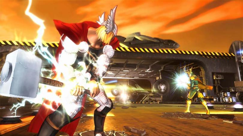 marvel avengers kinect thor_vs_loki