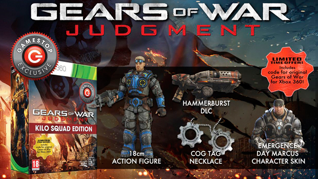 Gears of War Judgment UK Limited Edition