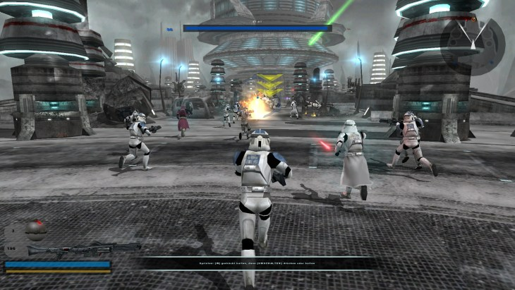Battlefront 2 featured more levels and more factions, including two from the Clone Wars.