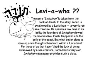 Levi-a-wha?