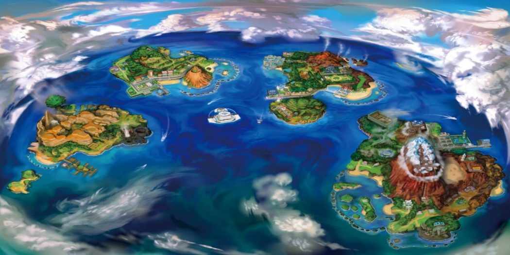 Vintage Map Iphone Wallpaper Pokemon Sun And Moon May Become The Best Selling 3ds Game Yet