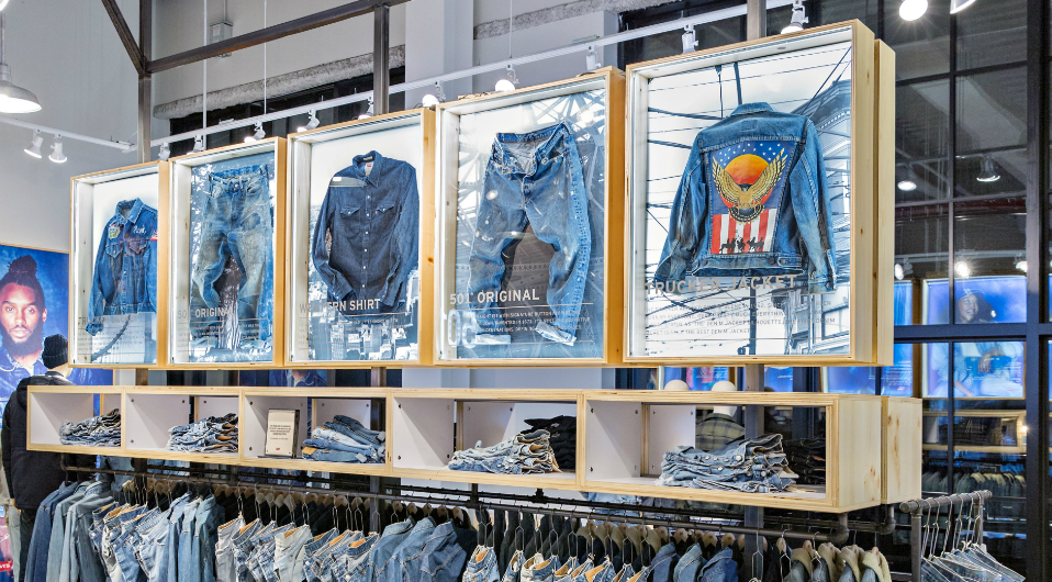 Levis Shop The Levi's Brand Unveils New Stores In Las Vegas & Brooklyn