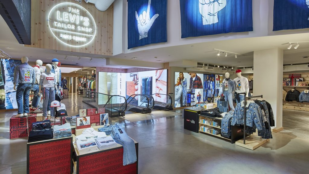Levis Shop Levi's® Opens Largest-ever Flagship Store In Times Square ...