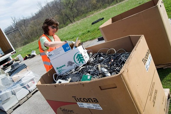 Household Hazardous Waste Recycling Day Happening At High School