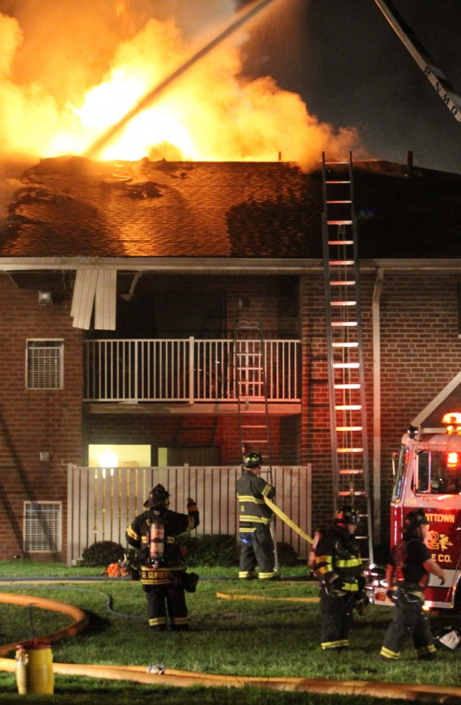 Lessons Learned In Racquet Club Fire Helped During Foxwood Manor Blaze