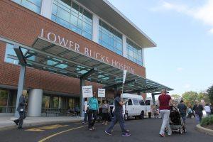 Union Nurses Picket Outside Lower Bucks Hospital