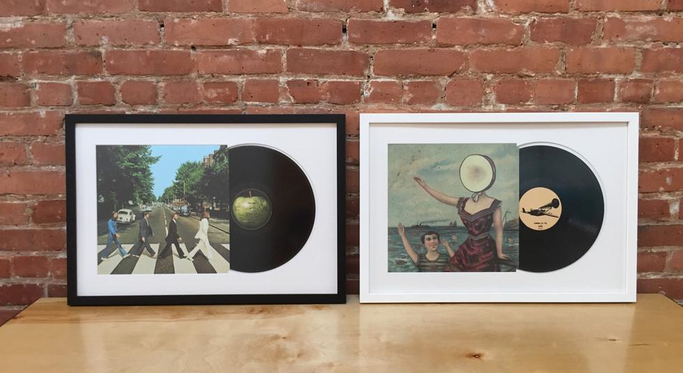 Sneak Preview Framed Vinyl - Custom Picture Frames Online Frame