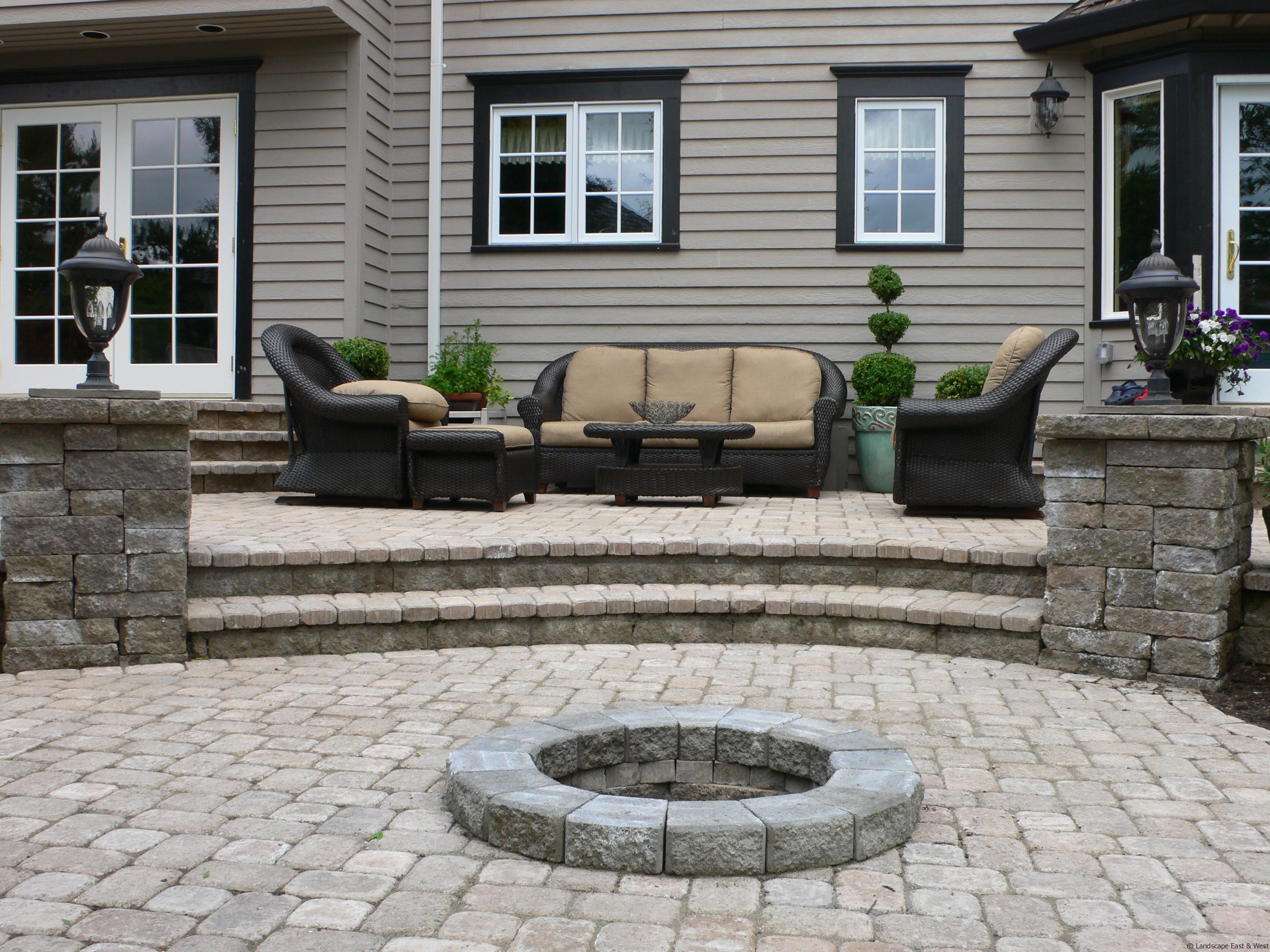 Patio Layout Designs 5 Ways To Improve Patio Designs For Portland Landscaping By