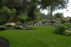 Splendid Portland Landscaping Expert Discusses Overcoming Soggy Lawns Backyards Without Grass Dogs Images Backyards Without Grass