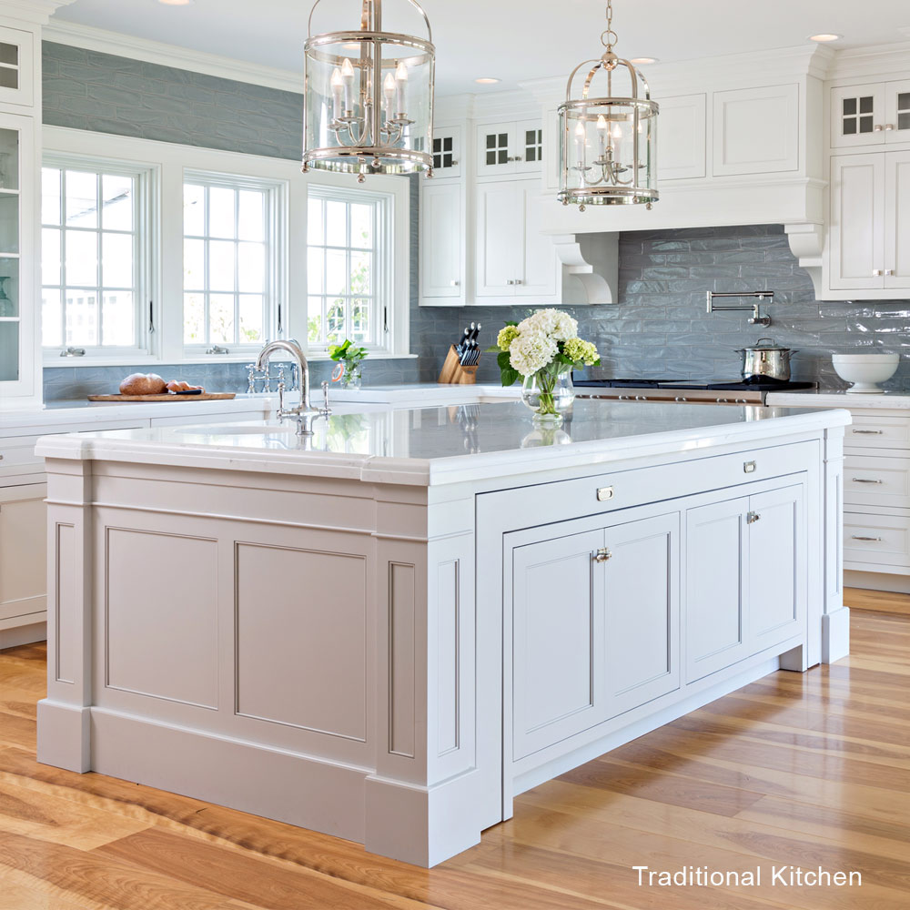 Marble Vs Granite Traditional Vs Transitional Kitchens - Lewis & Weldon