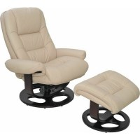 Jacque Pedestal Chair and Ottoman by Barcalounger  Lewis