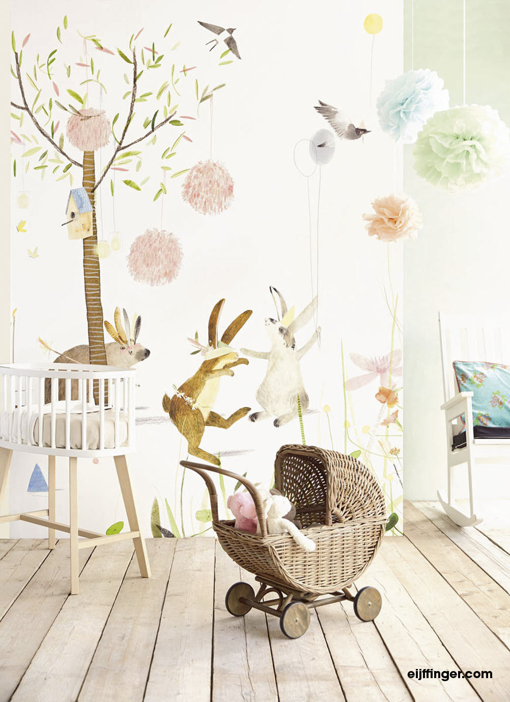 Tapete Babyzimmer Neutral Lex Home Decor Amstelveen - Behang