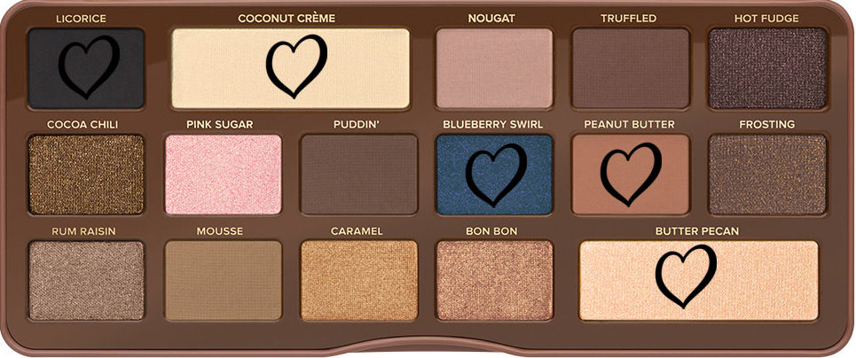 Semi-sweet chocolate bar too faced tutoriel coloré